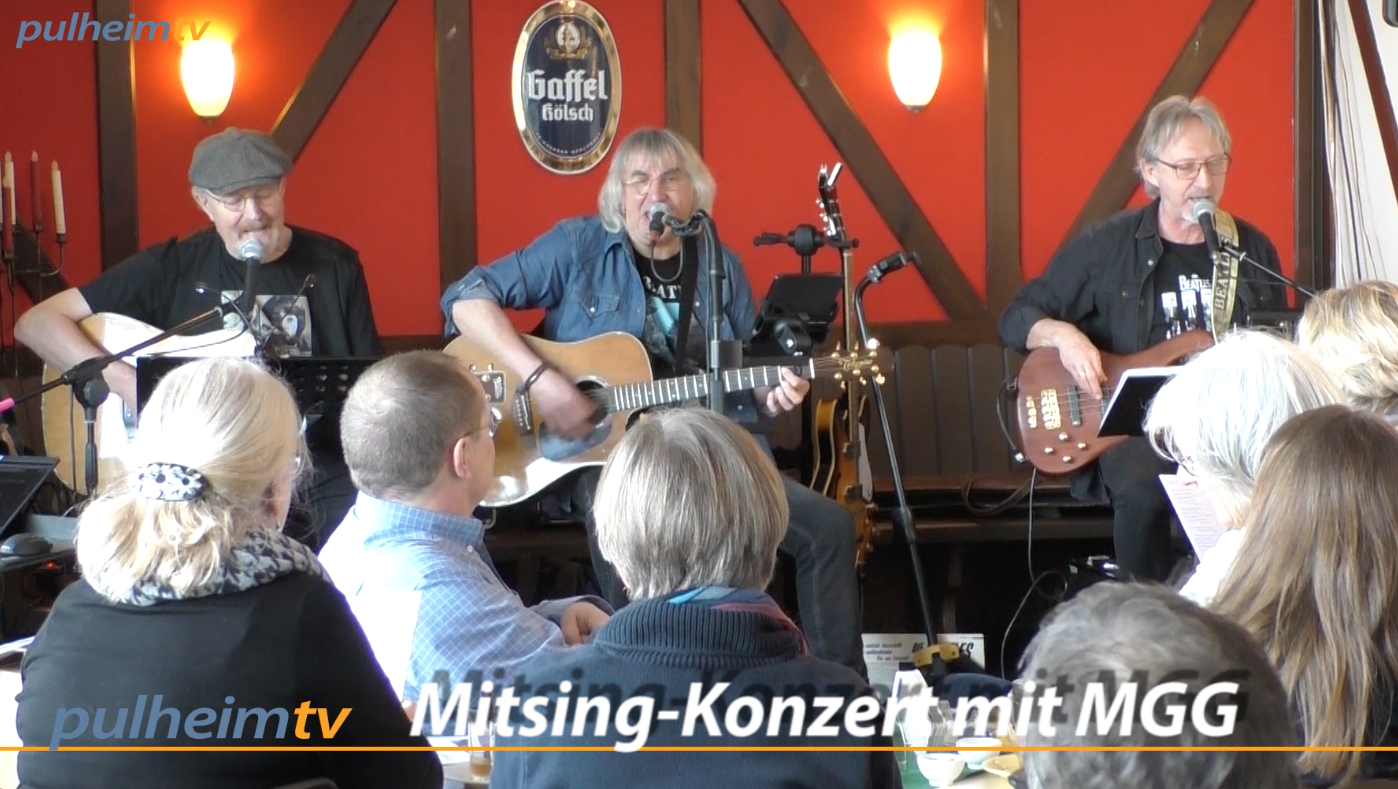 Video:  Beatles Mitsingkonzert im Fairplay