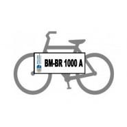 Fahrrad mit Kennzeichen 2