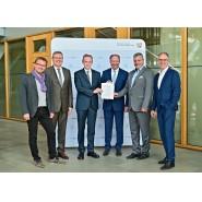 Verkehrsministerium Düsseldorf Vertragsunterzeichnung ABI 2933
